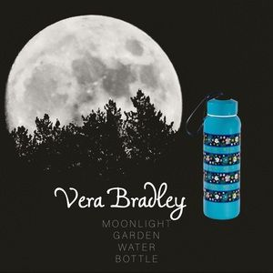 Vera Bradley Moonlight Garden Water Bottle 💦